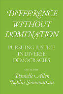 cover of a green book titled Difference without Domination