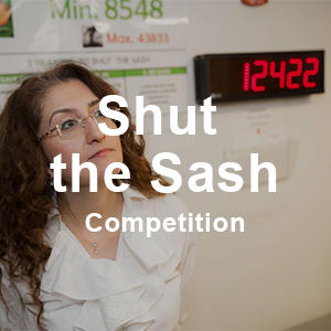 Shut the Sash Competition