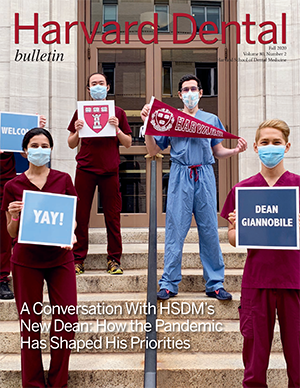 Fall Harvard Dental Bulletin cover