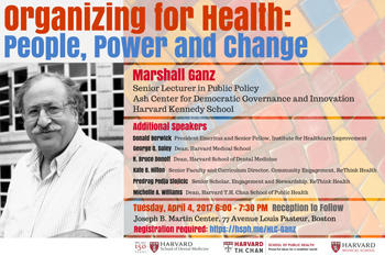 Organizing for Health event