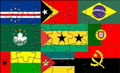 Image result for portuguese speaking countries flags together
