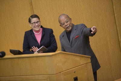 Evelyn Higginbotham & Henry Louis Gates, Jr.