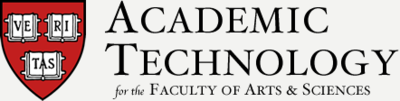 HUIT Academic Technology for the Faculty of Arts and Sciences