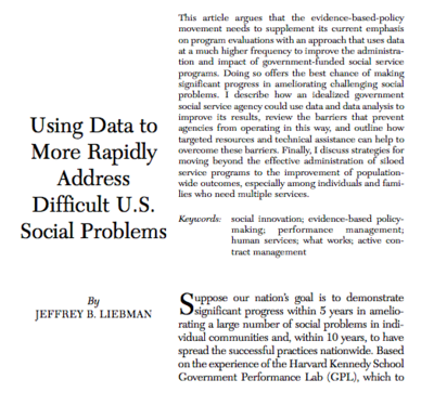 Using Data Journal Article