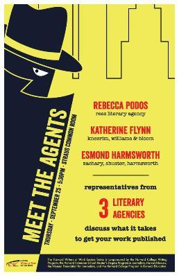 Harvard Writers at Work Presents: Meet the Agents, September 25, 2014