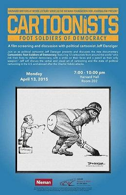 Cartoonists: foot soldiers of democracy