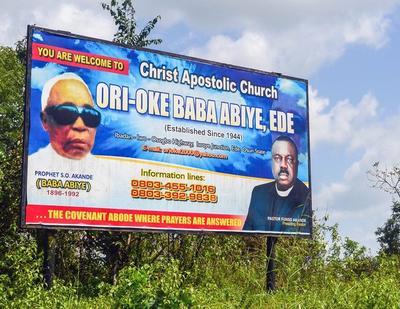 Aladura Churches in Nigeria   Religious Literacy Project