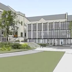 Andover Hall renovation image