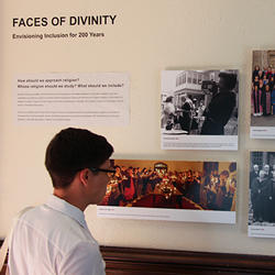 Faces of Divinity exhibit