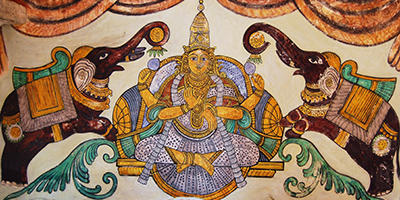 Detail of Tanjore painting