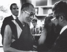 The Dalai Lama at the CSWR