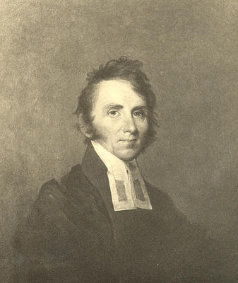 Portrait of William Ellery Channing (bMS 1446/29)