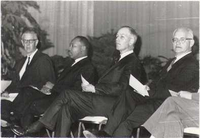 Martin Luther King, Jr., Dana McLean Greeley, and Homer Jack