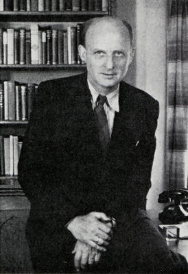 Photograph of H. Richard Niebuhr
