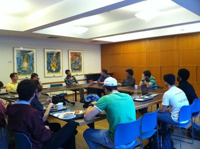 Harvard Students for Israel Meet with the Wexner Fellow