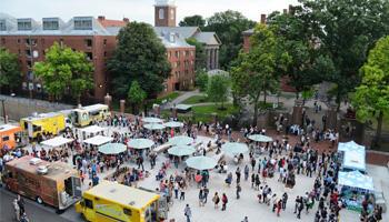 Harvard Square Food Trucks Schedule