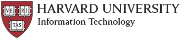 Harvard University Information Technology