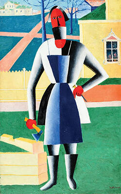 Kazimir Malevich's The Carpenter