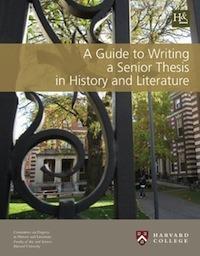 Harvard history thesis handbook