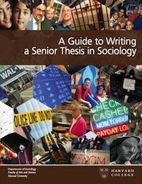 Thesis sociology harvard