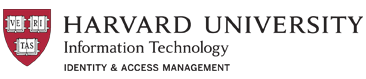 Harvard University Information Technology | Identity & Access Management