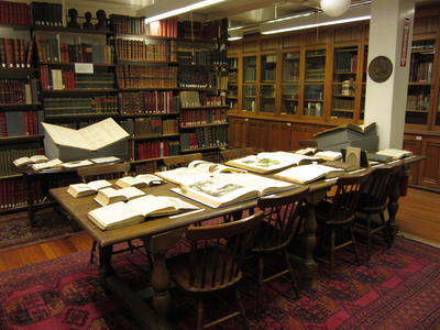 view of Special Collections