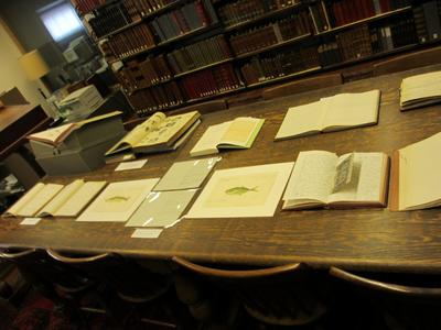 field notes from the Mayr Library collection