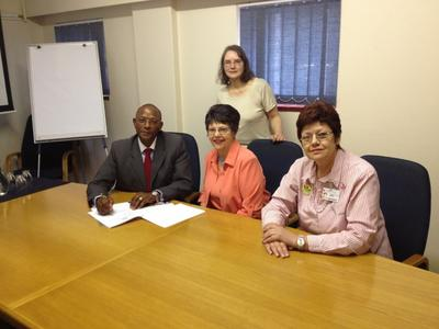 University of Pretoria MOU signing