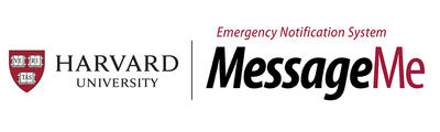 Harvard University MessageMe Emergency Notification Service