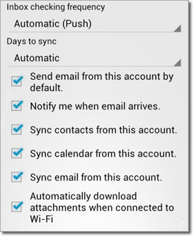 Office 365 Email Calendar Android Configuration Office 365 For