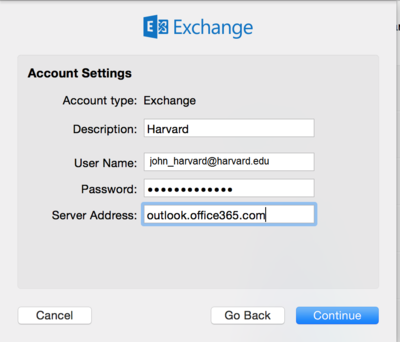 Enter your username password and outlook.office365.com as Server