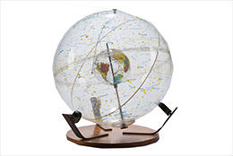 Image: farquhar globe for the Scale exhibit at the Collection of Historical Scientific Instruments