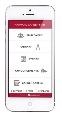 Career Fair+ App Screenshot
