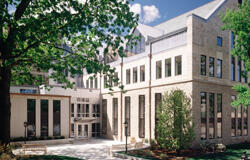 image of building; link to additional graduate program information