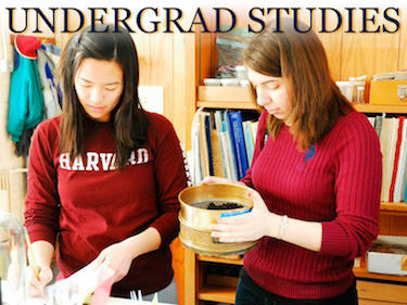 Undergraduate OEB Students at Harvard Forest