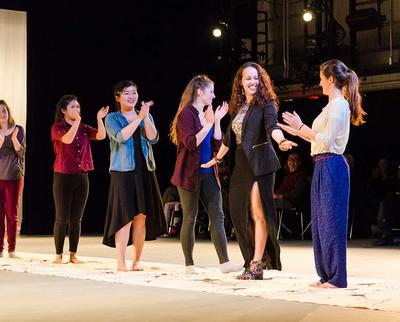 Emerging Choreographers Showing, Fall 2014. Credit: Liza Voll