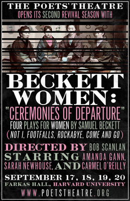 Beckett Women: Ceremonies of Departure. Four plays by Samuel Beckett.