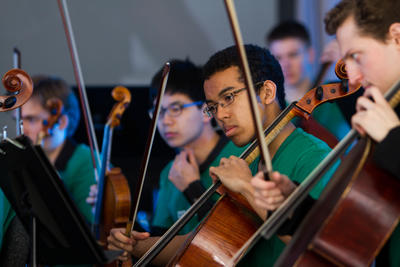 Harvard Radcliffe Orchestra performs at ARTS FRST 2015 with support from the OFA Grant Program