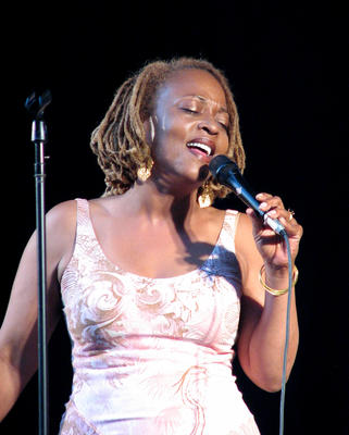 Cassandra Wilson is an American jazz musician, vocalist, songwriter, and producer from Jackson, Mississippi who incorporates blues, country and folk music into her work.