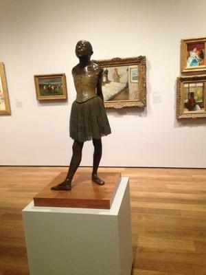"""Little Dancer, Aged Fourteen,"" Hilaire-Germain-Edgar Degas"