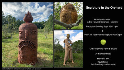 Invitation to Sculpture in the Orchard
