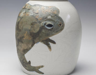 Julia Galloway - Toad Urn