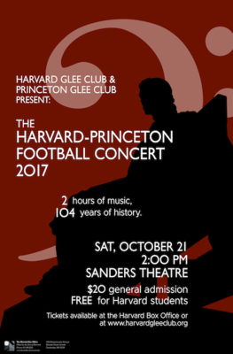 Harvard Glee Club Harvard-Princeton Football Concert