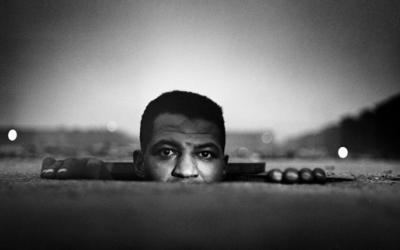 Gordon Parks, Emerging Man, Harlem, New York, 1952 courtesy The Gordon Parks Foundation