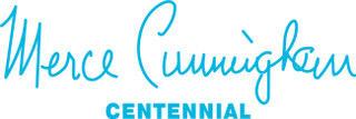 Merce Cunningham Centennial Logo