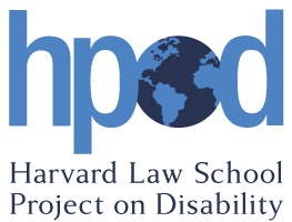 Harvard Law School Project on Disability Logo
