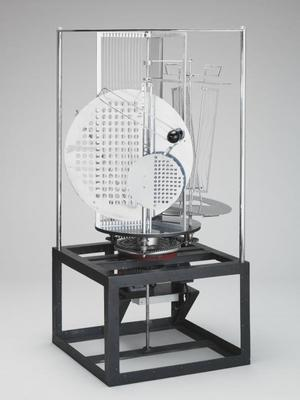 László Moholy-Nagy, Light Prop for an Electric Stage, Light-Space Modulator, 1930.