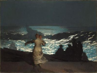 """Summer Night"" by Winslow Homer"