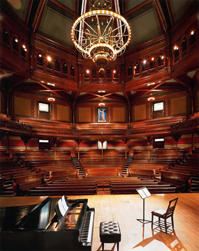 Historic Sanders Theatre at Harvard