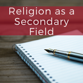 Religion as a Secondary Field